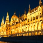 Parliament at night – Budapest